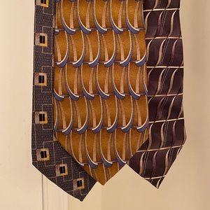 Today's Man 3 pack of ties